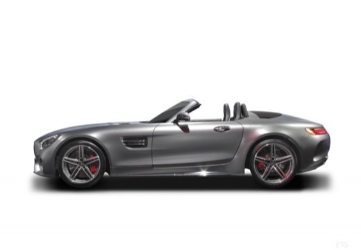 MERCEDES-BENZ Mercedes AMG GT roadster boczny lewy
