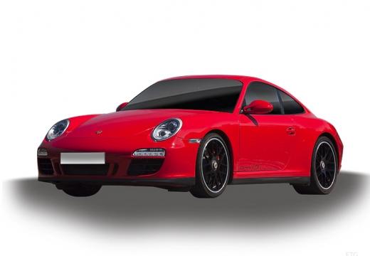 PORSCHE 911 997 coupe czerwony jasny