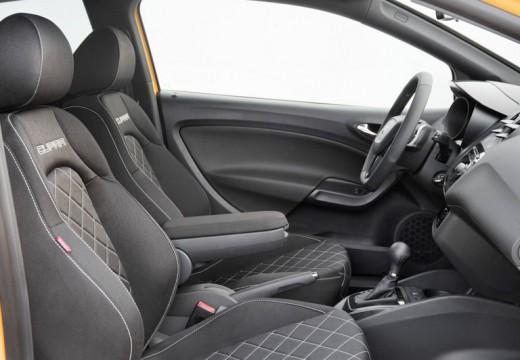 SEAT Ibiza V hatchback żółty boczny lewy