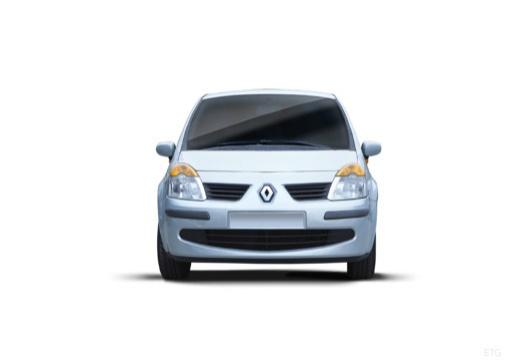 RENAULT Modus I hatchback niebieski jasny przedni
