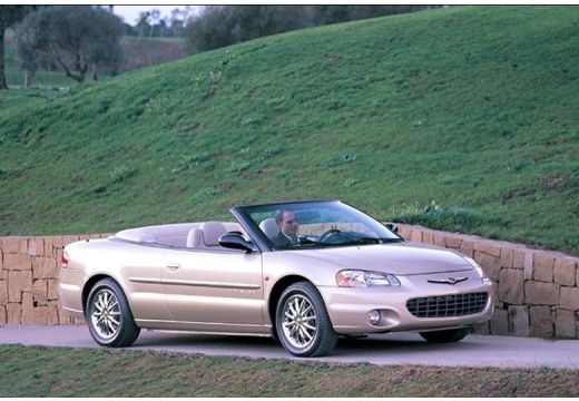 CHRYSLER Sebring 2.7 LX aut. Kabriolet Cabrio I 2.8 203KM (benzyna)