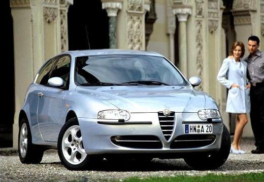 ALFA ROMEO 147 I hatchback silver grey przedni prawy