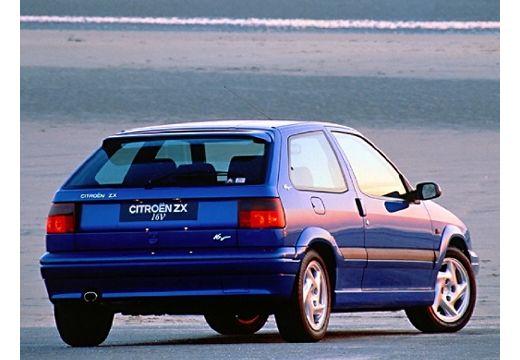 CITROEN ZX I hatchback niebieski jasny tylny prawy