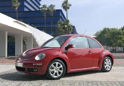 VOLKSWAGEN New Beetle coupe czerwony jasny przedni lewy