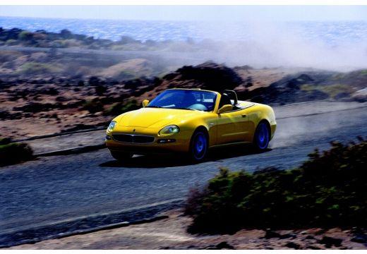 MASERATI 4200 Spyder roadster żółty przedni lewy