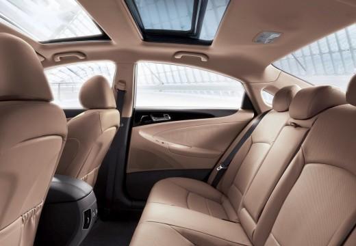 HYUNDAI Sonata VIII sedan wnętrze