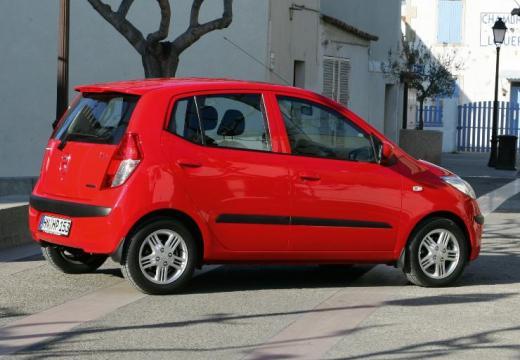 HYUNDAI i10 I hatchback czerwony jasny tylny prawy