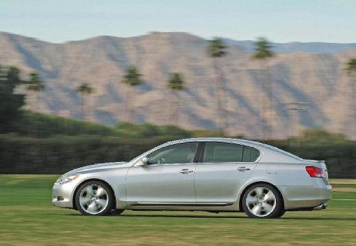LEXUS GS sedan silver grey boczny lewy
