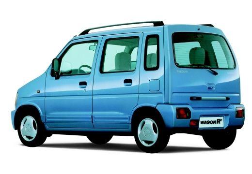 SUZUKI Wagon R+ hatchback niebieski jasny tylny lewy