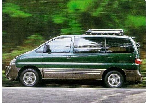 HYUNDAI H-1 kombi zielony boczny lewy