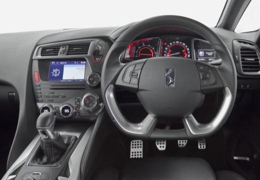 CITROEN DS5 hatchback silver grey tablica rozdzielcza