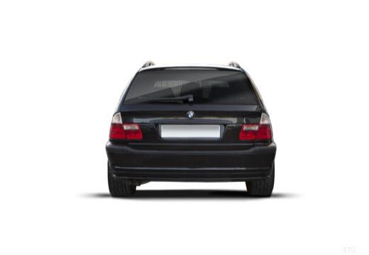 BMW Seria 3 Touring E46/3 kombi czarny tylny