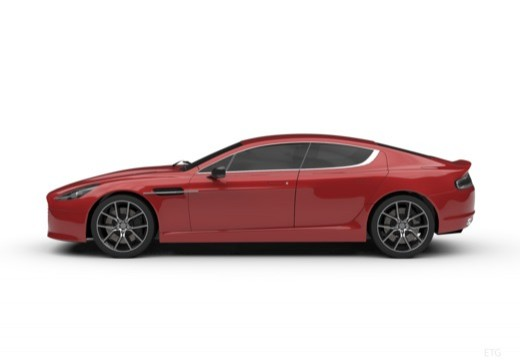 ASTON MARTIN Rapide S coupe boczny lewy