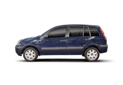 FORD Fusion II hatchback boczny lewy
