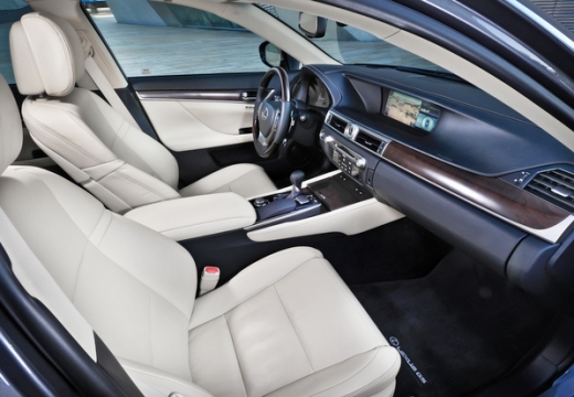 LEXUS GS IV sedan wnętrze