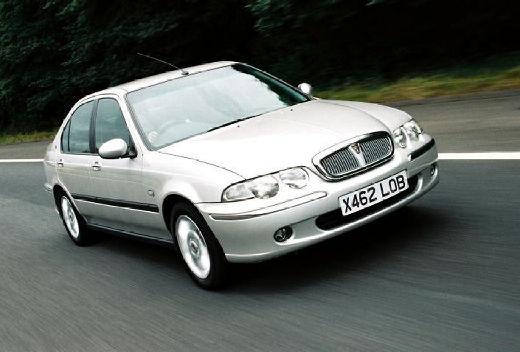 ROVER 45 sedan silver grey przedni prawy