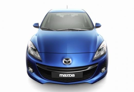 MAZDA 3 IV sedan niebieski jasny przedni