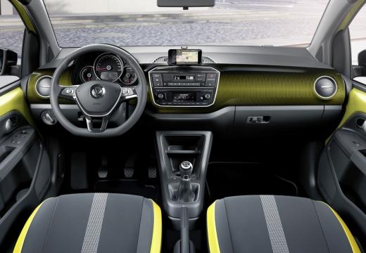 VOLKSWAGEN up II hatchback tablica rozdzielcza