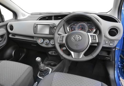Toyota Yaris VI hatchback niebieski jasny tablica rozdzielcza