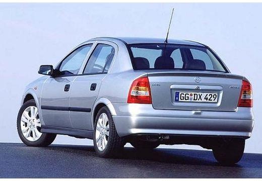 OPEL Astra II sedan silver grey tylny lewy
