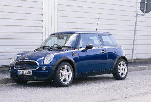 MINI [BMW] Cooper hatchback niebieski jasny przedni lewy