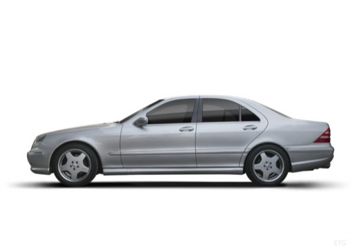 MERCEDES-BENZ Klasa S W 220 II sedan boczny lewy