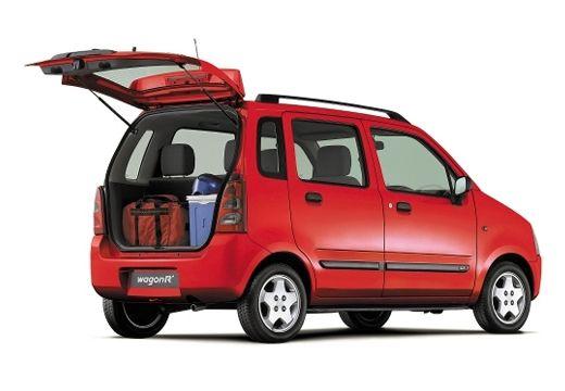 SUZUKI Wagon R+ hatchback czerwony jasny tylny prawy