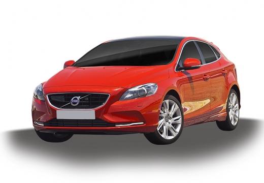 VOLVO V40 IV hatchback czerwony jasny