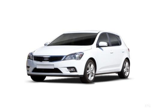 KIA Ceed II hatchback biały przedni lewy