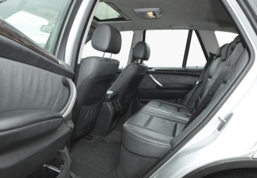 BMW X5 X 5 E53 I kombi silver grey wnętrze