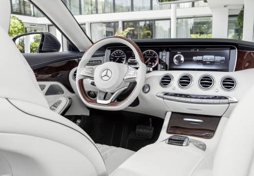MERCEDES-BENZ Klasa S Coupe kabriolet tablica rozdzielcza