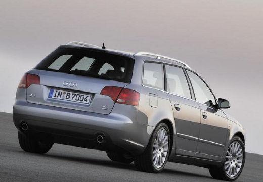 AUDI A4 Avant 8E II kombi silver grey tylny prawy