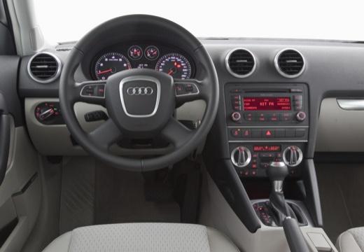 AUDI A3 Sportback II hatchback tablica rozdzielcza