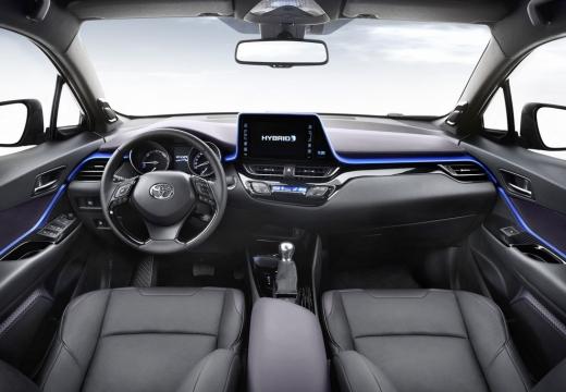 Toyota C-HR hatchback tablica rozdzielcza