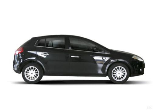 FIAT Bravo II hatchback czarny boczny prawy