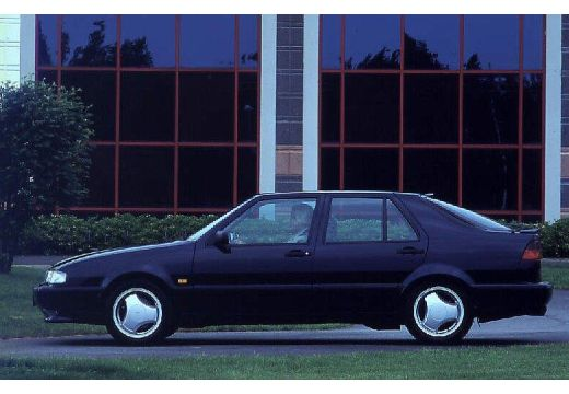 SAAB 9000 hatchback boczny lewy