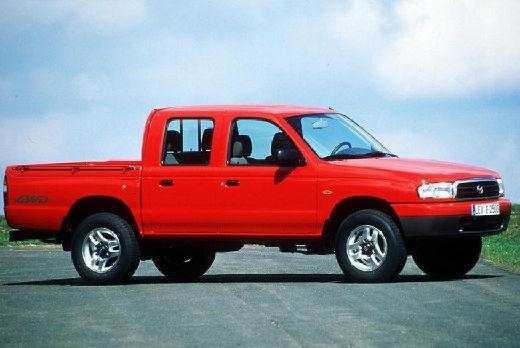 MAZDA B-seria pickup czerwony jasny przedni prawy