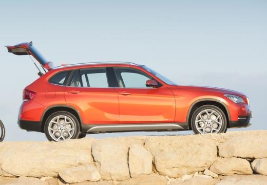 BMW X1 X 1 E84 II kombi pomarańczowy boczny prawy