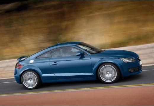 AUDI TT I coupe niebieski jasny boczny prawy