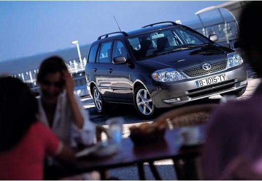 Toyota Corolla kombi szary ciemny przedni prawy