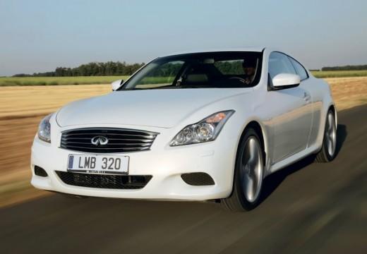 INFINITI G37 coupe biały przedni lewy