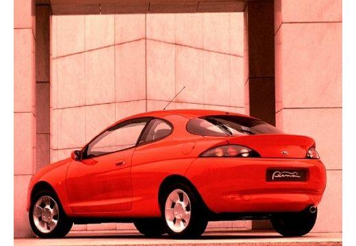 FORD Puma coupe czerwony jasny tylny lewy