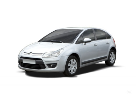 CITROEN C4 II hatchback silver grey
