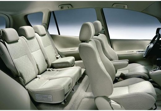 Toyota Corolla Verso I kombi mpv wnętrze