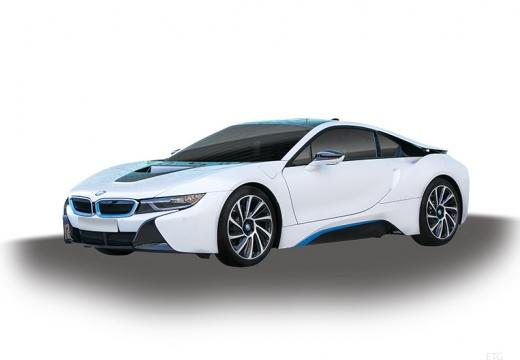BMW i8 coupe biały