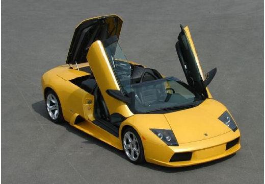 LAMBORGHINI Murcielago roadster żółty przedni prawy