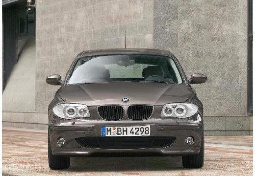 BMW Seria 1 hatchback brązowy przedni