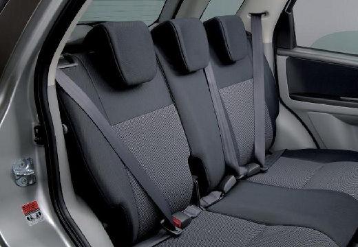 SUZUKI SX4 I hatchback silver grey wnętrze