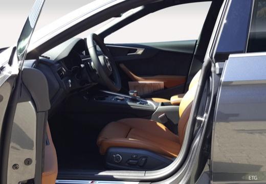 AUDI A5 Sportback III hatchback wnętrze