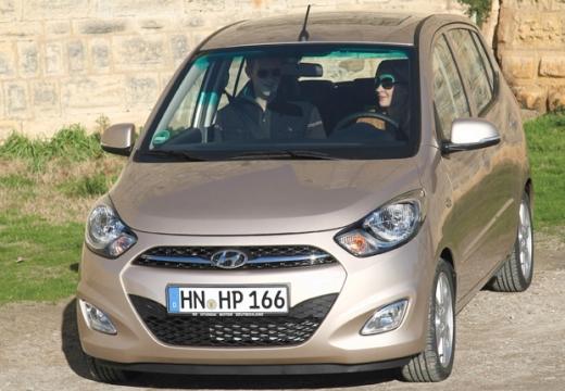 HYUNDAI i10 II hatchback silver grey przedni lewy